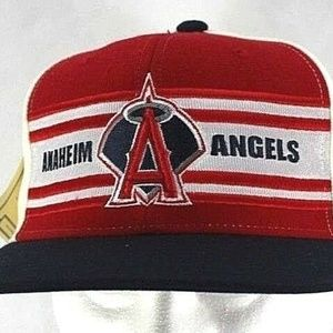 Los Angeles Anaheim Angels Red/Black/White Basebal